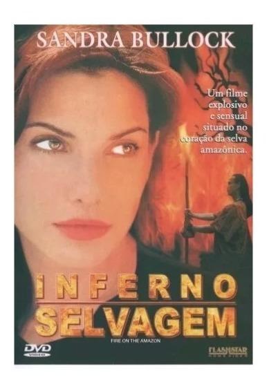Dvd Inferno Selvagem - Sandra Bullock -