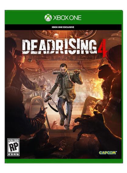 Dead Rising 4 Mídia Física Xbox One Dublado Português