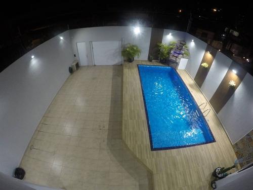 Casa, 3 Dorms Com 360 M² - Cidade Ocian - Praia Grande - Ref.: Pr1791 - Pr1791