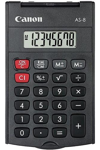 Imagen 1 de 3 de Calculadora Digital Canon Estándar 6x10cm Bolsillo Con Tapa®