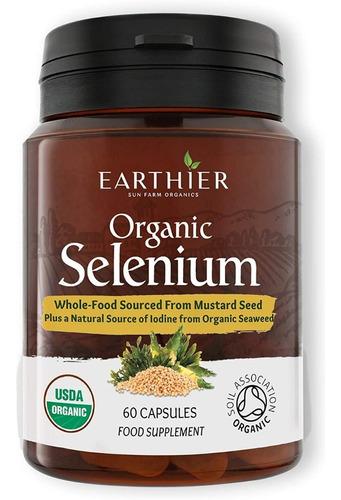 Selenio Earthier Sun Farm Organic - Unidad a $2571
