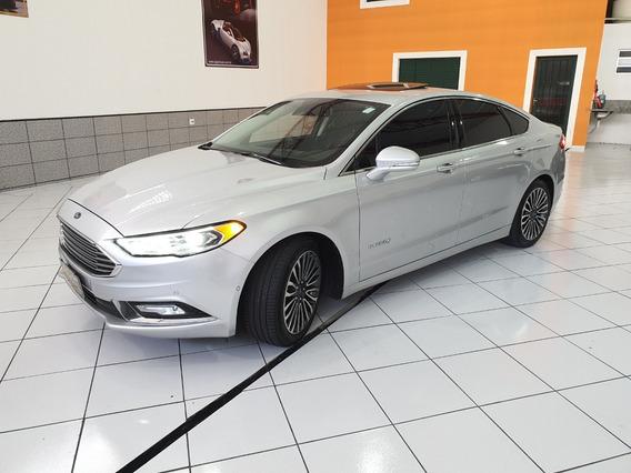 Ford Fusion Hibrido Titanium 2.0 Autom Top Teto Revisado 40k