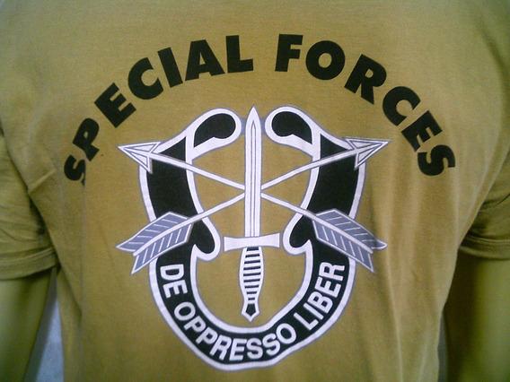 Camiseta Americana Forças Especiais