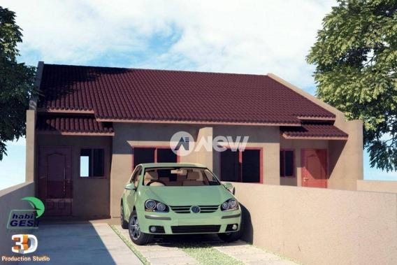 Casa Com 2 Dormitórios À Venda, 50 M² Por R$ 149.000 - Arroio Da Manteiga - São Leopoldo/rs - Ca2823