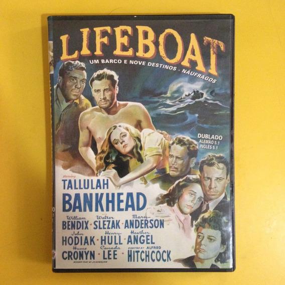 Dvd Lifeboat Um Barco E Nove Destinos . Alfred Hitchcock