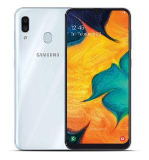Celular Samsung A30 64gb Libre + Funda + Templado + Envio!!