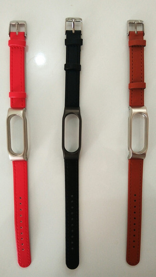 Correas De Piel Sintética Para Xiaomi Mi Band 2 (nrc)