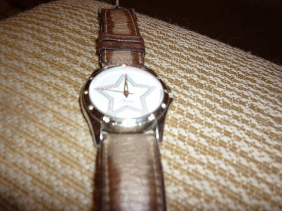 Relógio Champion Pulseira Em Couro