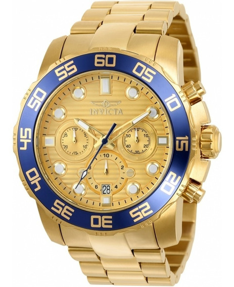 Relógio Invicta Pro Diver 22227 Original (banhado 18k)