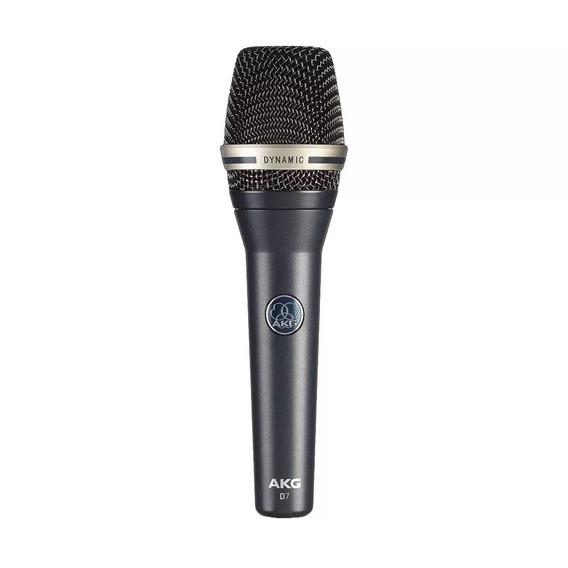Microfone Profissional Dinâmico Akg D7 Vocal