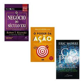 Kit Livros - Gopro+negocio Do Seculo Xxi+poderdaação