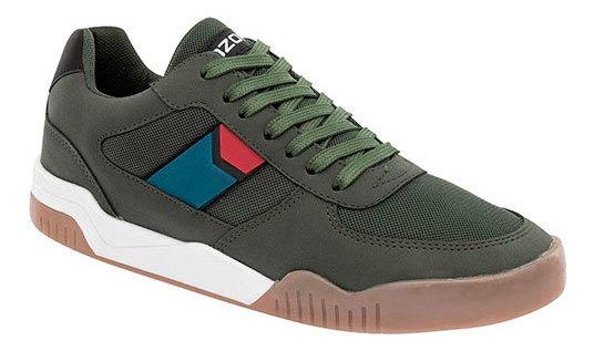 Sneaker Casual Verde Sintéticotextil Hombre 84119 Udt