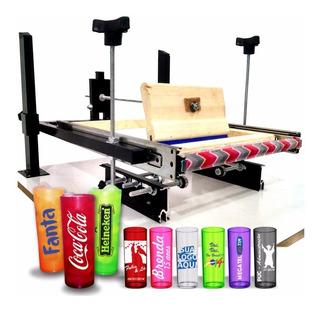 Máquina Silk Pinte + De 15 Objetos, Long Drink, Caneca, Bola