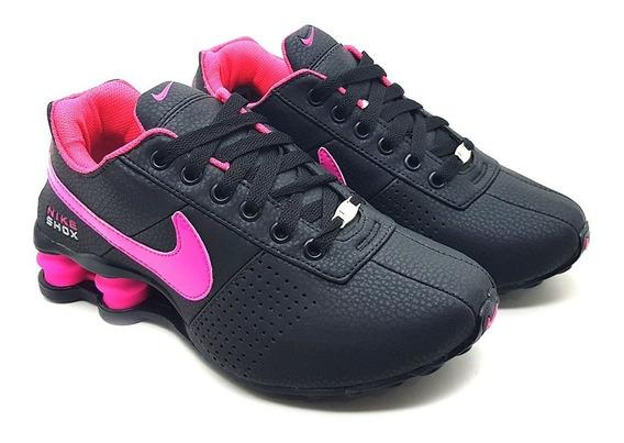 Tênis Nike Shox Classic 4 Molas Masculino Feminino Importado Original Macio Frete Grátis Promoção Macio Couro Hornet