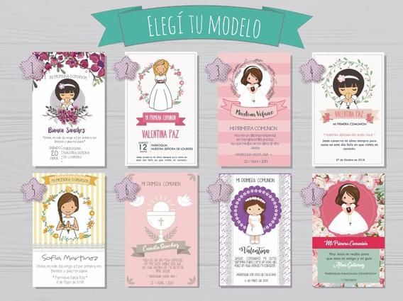 30 Estampitas De Comunión Para Nene Ó Nena / Tamaño 9x13cm