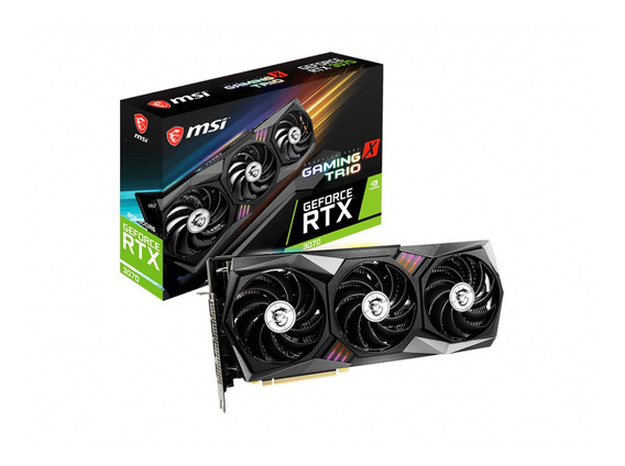 Placa De Video Nvidia Msi Geforce Rtx 3070 Gaming X Trio 8gb