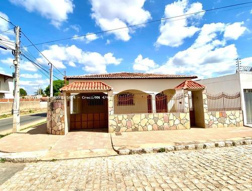 Casa Para Venda Em Açu, Cohab/conjunto Janduís - Casa Em Via Pública, 3 Dormitórios, 1 Suíte, 2 Banheiros, 2 Vagas - Cas1618-c_2-1118844