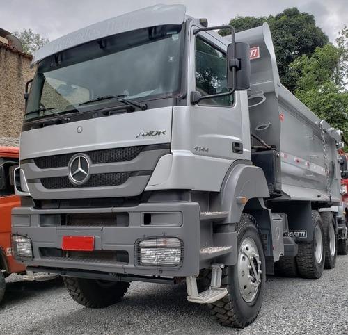 Mercedes-benz Axor4144k 6x4 Ano 2014/2014 Impecável