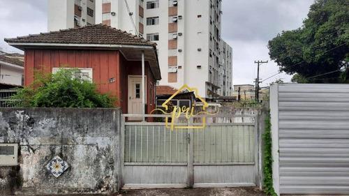 Terreno À Venda, 306 M² Por R$ 745.000,00 - Aparecida - Santos/sp - Te0027
