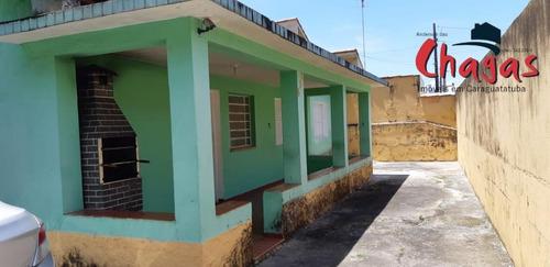 Casa Em Rua Comercial No Bairro Sumaré Em Caraguatatuba. - 1450