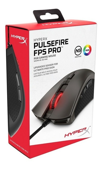 Mouse Gamer Hyperx Pulsefire Fps Pro Rgb 16000dpi