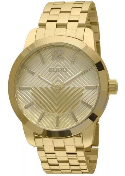 Relógio Feminino Euro Fan Eu2034aj/4d Barato Original