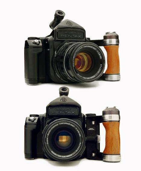Câmera Pentax 6x7 Il + Objetiva 90mm F/2.8 L S + Acessórios