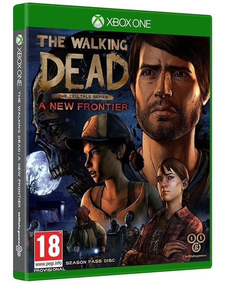 Jogo The Walking Dead A New Frontier Xbox One Mídia Física