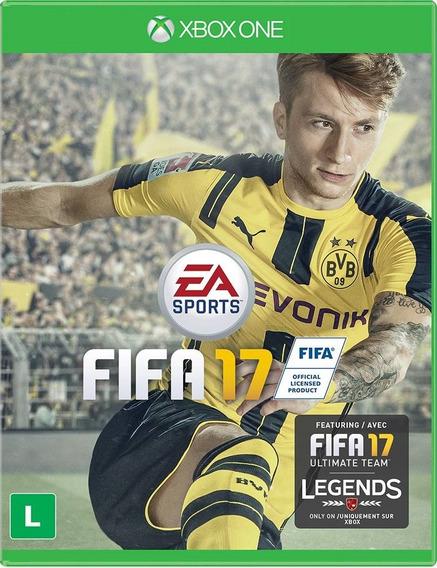 Jogo Fifa 17 Xbox One Xone Português Original Futebol Física