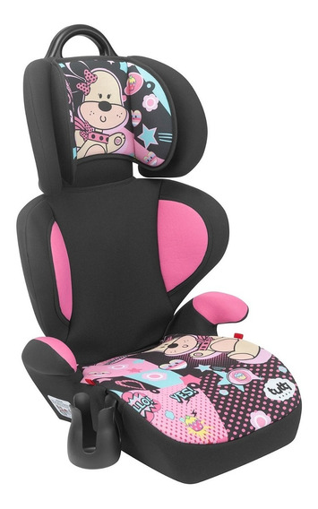 Cadeira Cadeirinha Infantil Carro Bebê Rosa Supreme 15-36kg