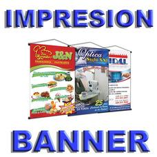 Impresión En Banner En Alta Resolución
