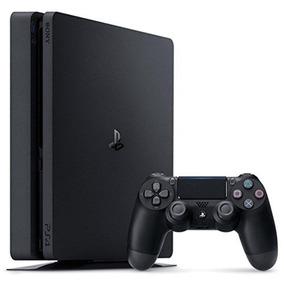 Playstation 4 Ps4 Slim 1tb 3 Jogos Completo