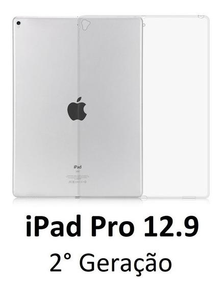 Capa Case Silicone Tpu iPad Pro 12.9 Geração 2 Transparente