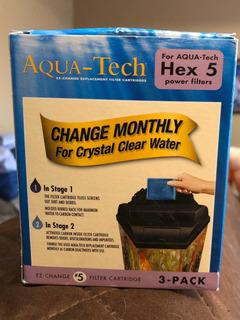 Filtros Para Pecera Aqua-tech Paquete Con Tres Filtros