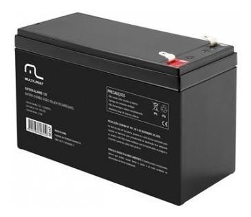 Bateria Selada Alarme Ou Cerca E No-break 12v 7ah Multilaser