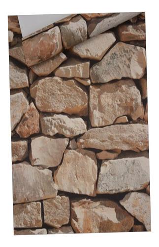 Imagen 1 de 8 de Etiquetas Engomadas Retras De La Piedra Del Ladrillo Si