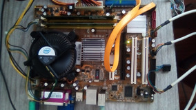 Computador Asus 775, Intel Pentium Dual Core, Mem. Ram 1gb