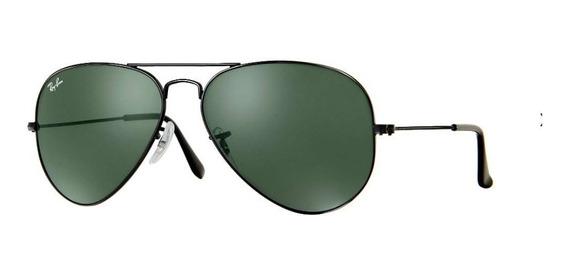 Rb 3025 Classico Preto / Lentes Verdes G15