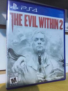 Ps4 The Evil Within 2 Sellado Físico Blu-ray Envíos