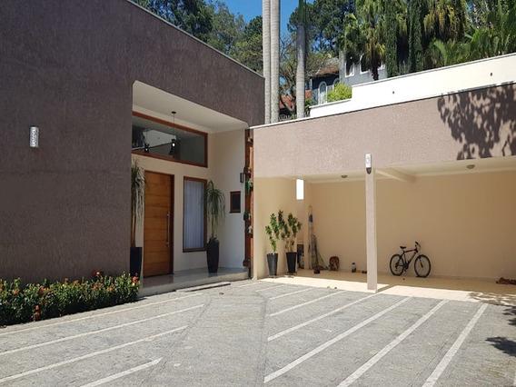 Linda Casa De Alto Padrão Em Condomínio Fechado Na Granja Viana - 11482