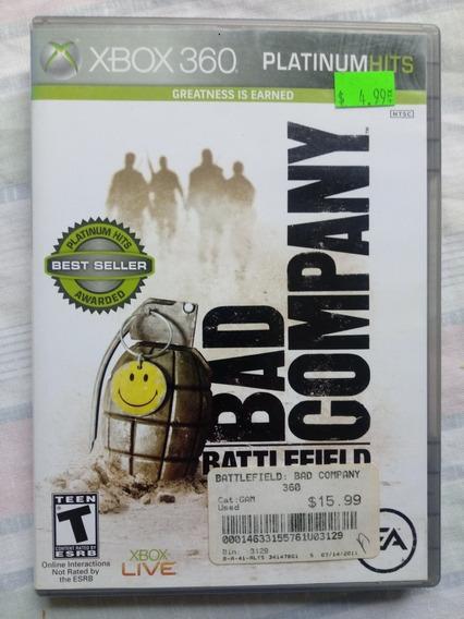 Xbox 360 Game Battlefield: Bad Company