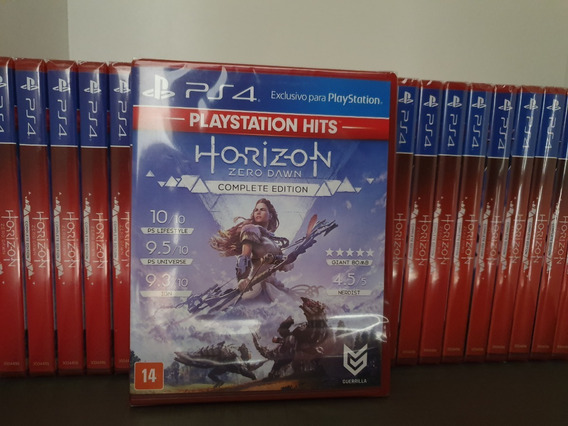 Jogo Ps4 Horizon Zero Dawn Mídia Física