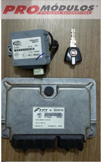 Kit Módulo Injeção Fiat Palio 1.0 8v - Iaw 4df.ph - 55226719