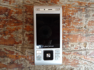 Antigo Celular Sony Ericsson Cyber Shot Nao Funciona