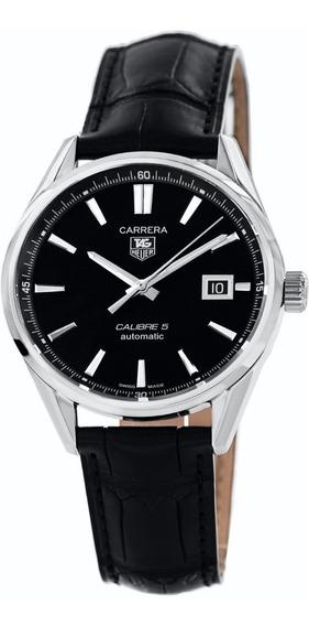 Reloj Tag Heuer Carrera Cuero Negro Hombre War211a.fc6180