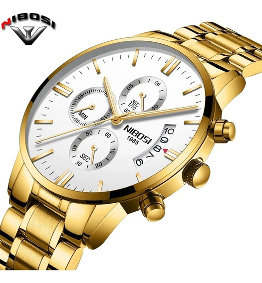 Relógio Masculino Nibosi 2309 Original A Prova D