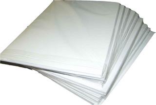 Papel Adhesivo Pleno Carta En Mate X 50