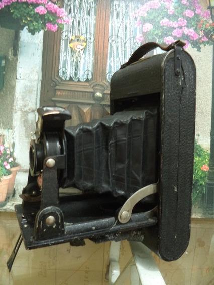Maquina Fotografica De Fole Voigtlander Antiga
