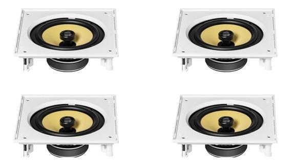 Kit 4 Caixa Som Jbl Ci8s Embutir Gesso Home Theater Ou Som Ambiente Para Área Gourmet