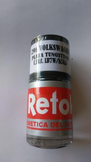 Pintura Retoke Vw Plata Tungsteno Tungsten Silver C.f. Lb7w